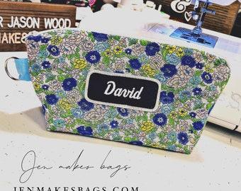 david - medium zipper bag