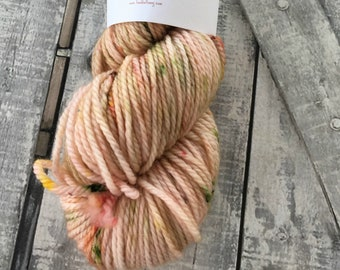 Hand Dyed Yarn, Sara Crewe from A Little Princess, Speckled Skein, Aran/Worsted Weight,100 Superwash Merino,100 grams,Toad Hollow yarns
