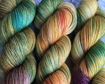 Sock Toad Dyed Yarn