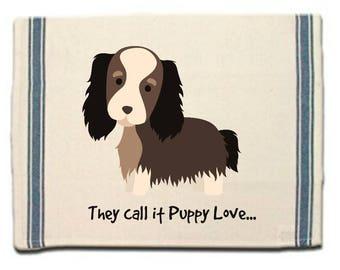 Shaggy Dog Kitchen Towel,Whimsical Dish Towel,Dog Tea Towel,Dish Cloth, Gift for Dog Lover, Puppy Love, Gift for Her,Dog Lover Gift