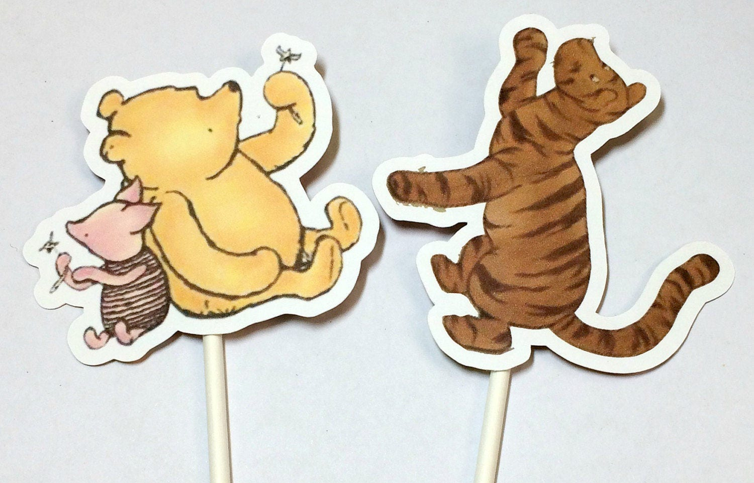 Cupcake Toppers Winnie the PoohINSTANT DOWNLOADCake Toppers