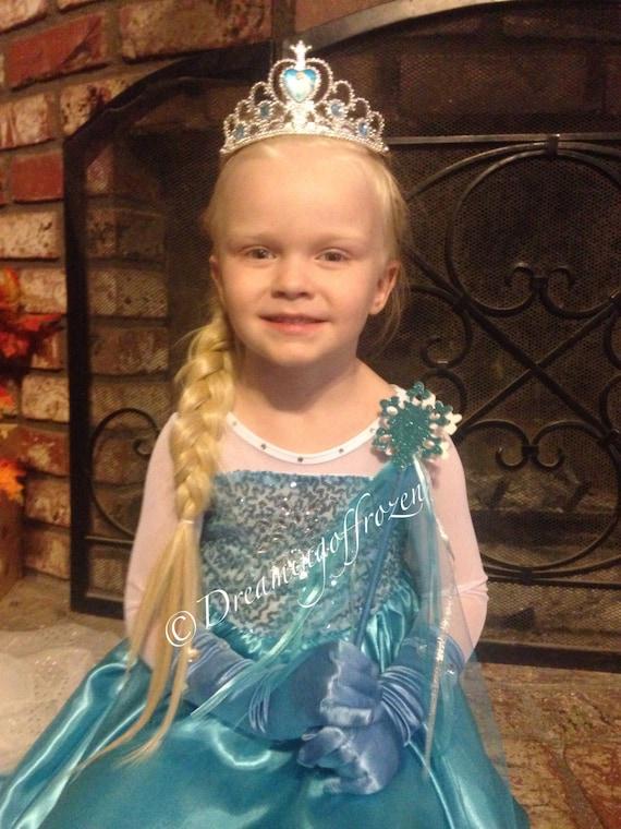 Princess Anna inspired Dress Frozen IN STOCK Anna Halloween costume 50125