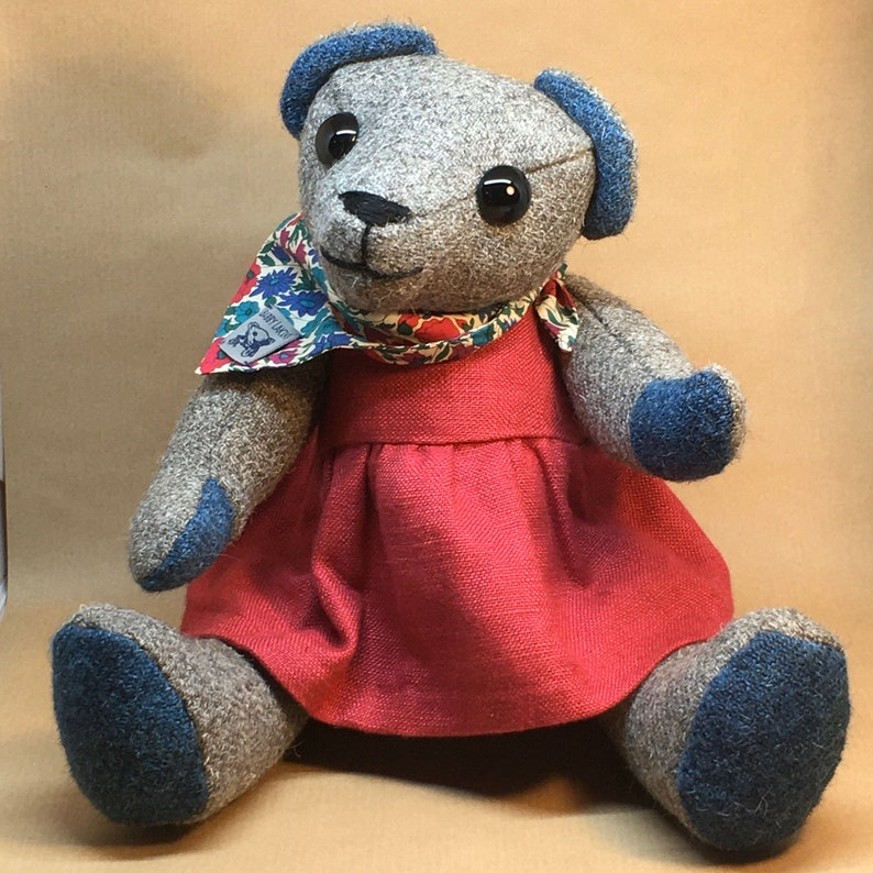 Babby Lakins Herdwick Tweed traditional bear image 0