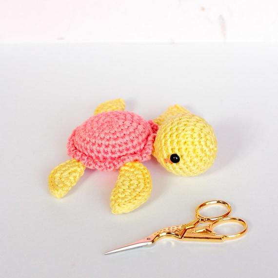 Regalo nacimiento juguete chirriar tortuga amigurumi Don | Etsy
