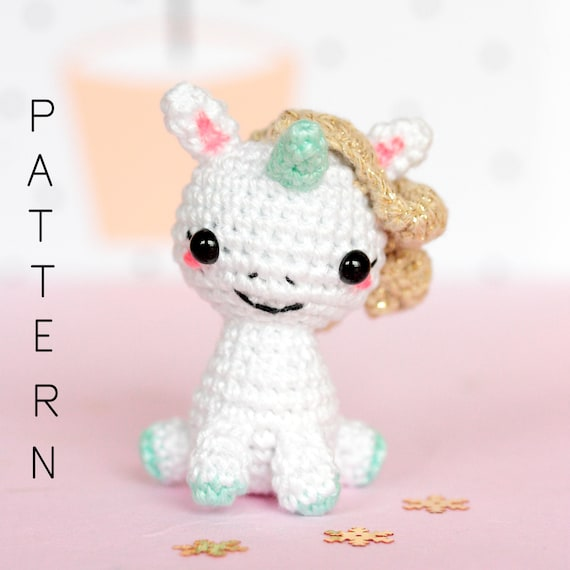 Unicorn Amigurumi crochet - YouTube | 570x570