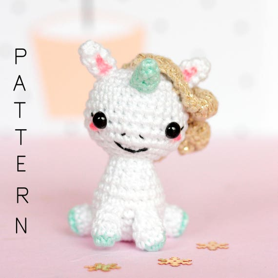 Baby unicorn amigurumi pattern - Amigurumi Today | 570x570