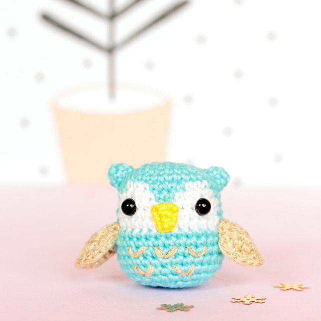 Buho de peluche buho amigurumi buho miniatura kawaii buho | Etsy