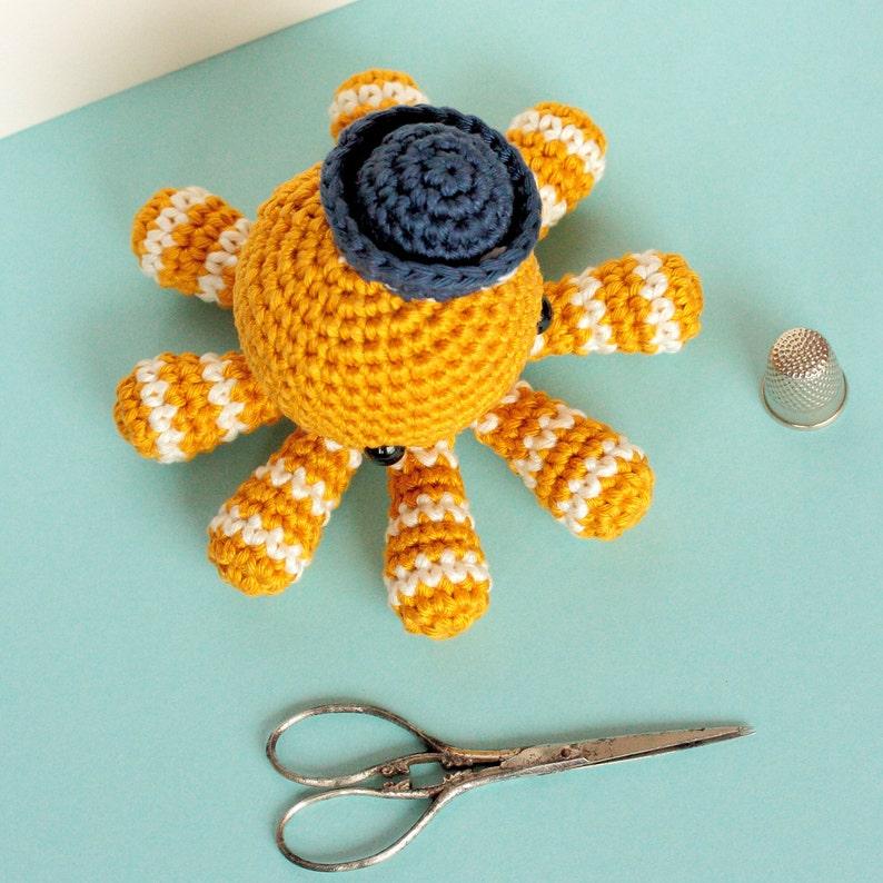 Ernest the Amigurumi Octopus   PDF Crochet Pattern – AiraliDesign   794x794