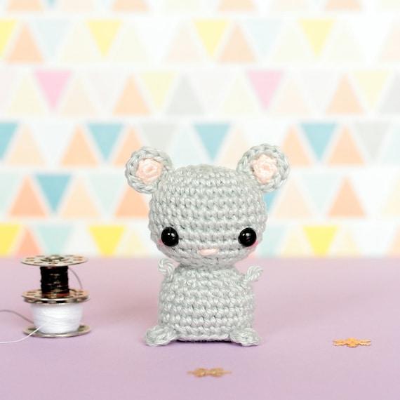 Mini Amigurumi Häkeln Amigurumi Häkeln Maus Kleine Amigurumi Etsy