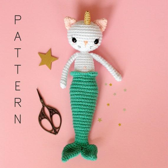 Amigurumi Cat Crochet Pattern #crochetpattern #amigurumi #ad #cat ... | 570x570