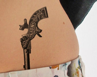 Moi/&vous Tatouage personnalis/é Amour tatouage Lot de 2 tatouages