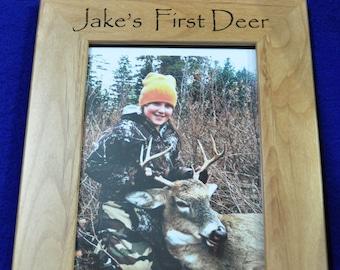 First Deer Frame ~ First Deer ~ Deer Hunting Frame ~ Custom Frames ~ 1st Deer ~ Child's First Deer Frame ~ Deer Hunting Frames ~ Hunting ~