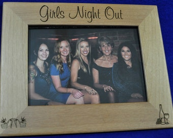 Gift For Friends ~ Bachelorette Party Gift ~ Bridesmaid Gifts ~ Engraved Frames ~ Friend Gift ~ Custom Friend Gift ~ Custom Frames ~ Wedding