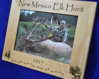 Elk Hunting. Hunting Frame. Hunting Gift. Gift For Hunter. Hunting Picture Frame. Elk Hunter Gift. First Hunt Gift. Gift For Hunting. Elk