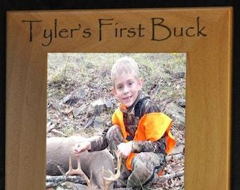 Deer Hunting. First Deer Frame. First Buck. Deer Hunting Frame. Deer Hunter Gift. Engraved Deer Hunting Frame. Engraved Hunting Gift. Deer