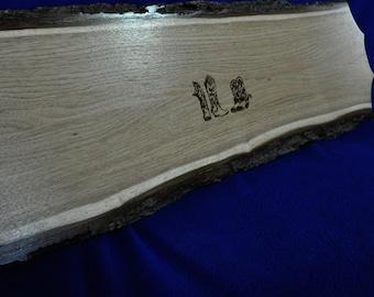 Wedding Guest Book ~ Free Engraving ~ Wedding Sign ~ Wood Slab Guest Book ~ Tree Slice ~ Guest Book Alternative ~ Western Wedding ~ Signs ~