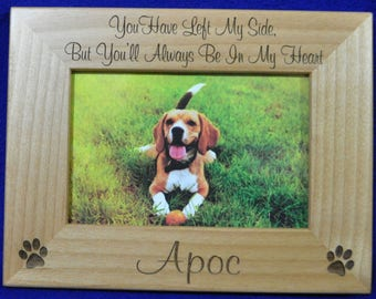 Pet Loss ~ Pet Memorial ~ Pet Frame ~ Pet Loss Gift ~ Custom Pet Frame ~ Loss Of Pet Frame ~ Pets ~ Gift For Pet Loss ~ Sympathy Gift ~ Pet