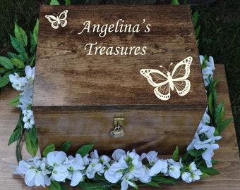 GiftsForYouNow Bible Personalized Keepsake Box