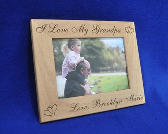 Fathers Day Gifts Birthday Gift For Dad Baby Frame Custom Frames New Picture Great