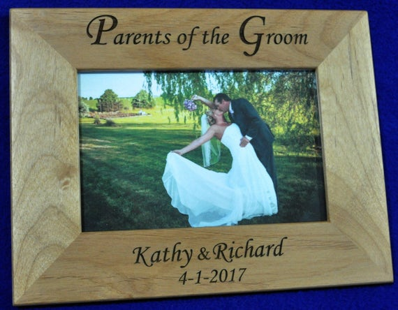 Grooms Gift To Mom: Parents Of The Groom Wedding Gift For Parents Custom