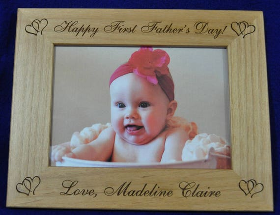 Gift For Dad Birthday Gift For Dad Baby Frame Custom Etsy