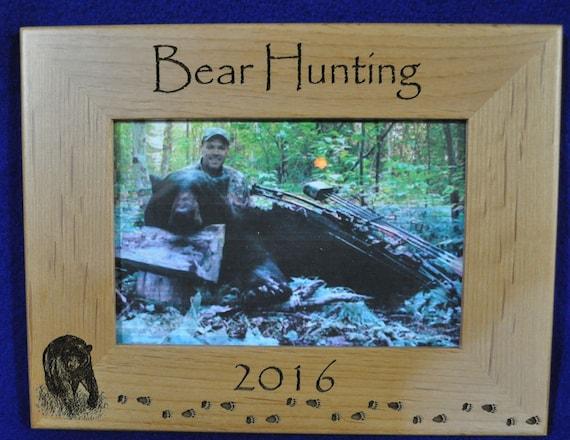 Hunting Frames Bear Hunting Frame Hunting Gift Gift For