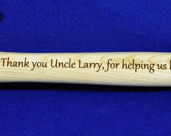 Gift For Brother ~ Gift For Uncle ~ Engraved Hammer ~ Brother Gift ~ Hammer Gift ~ Gift For Brother ~ Gift For Special Guy ~ Engraved Gift ~