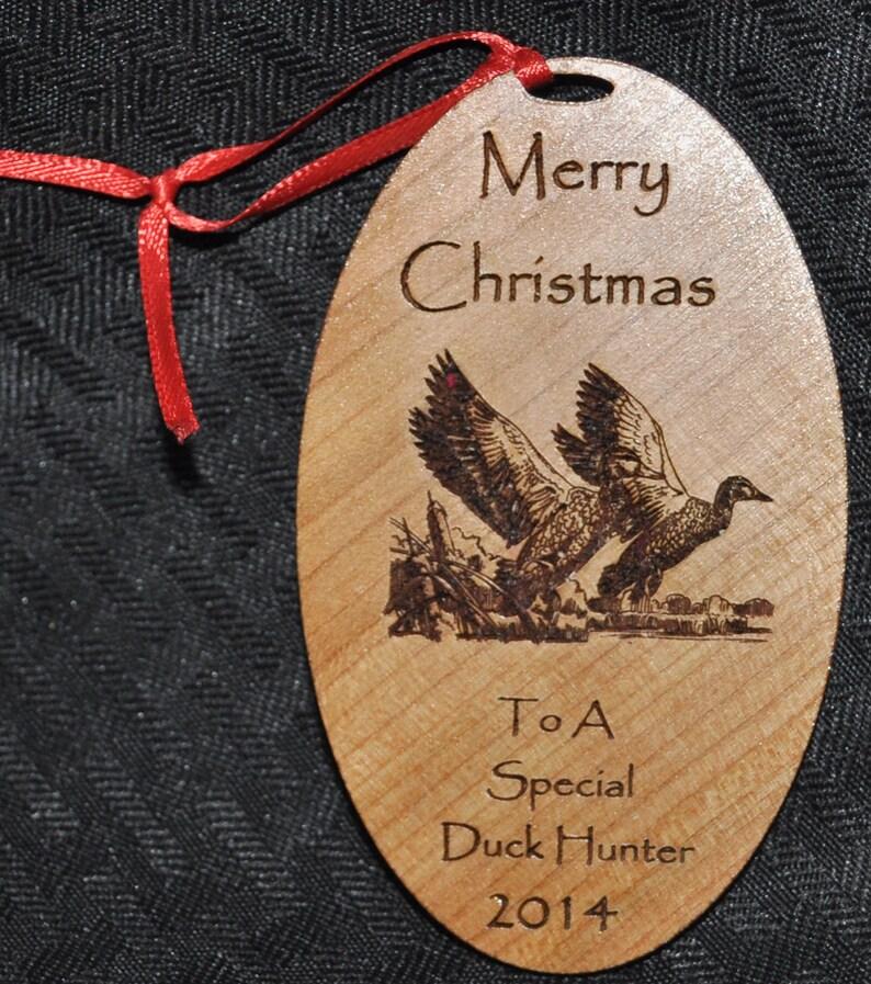 Duck Hunter Gift.  Duck Hunter Ornament. Duck Hunting.  Duck image 0