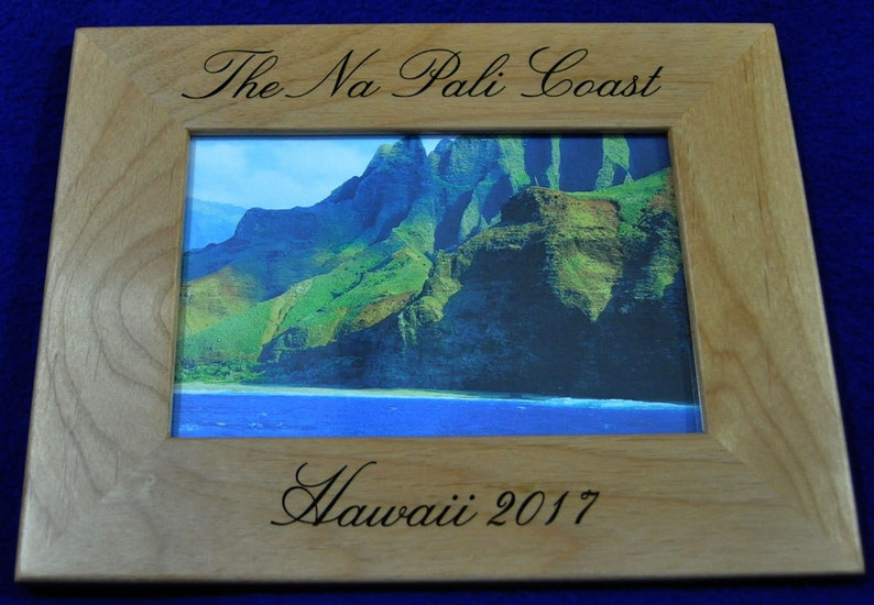 Vacation Frame  Vacation Gift  Custom Picture Frame  image 0