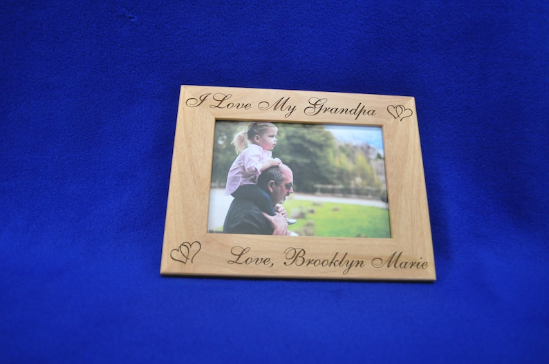 Fathers Day Gifts ~ Birthday Gift For Dad ~ Baby Frame ~ Custom Frames ~ New Baby Gift ~ Picture Frames ~ Frames For Baby ~ Great Dad Gifts