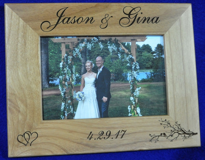 Wedding Gift For Couple  Wedding Frame  Wedding Gift For image 0
