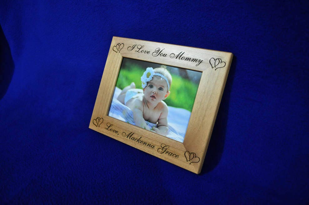Mothers Day Gifts ~ Birthday Gift For Mom ~ Baby Frame ~ Custom ...