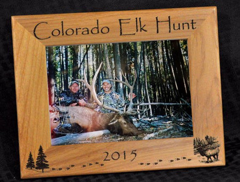Hunting  Elk Hunting  Hunting Frame  Hunting Gift  Gift image 0