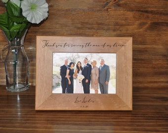 Parents Of The Groom ~ Wedding Gift For Parents ~ To Grooms Parents From Bride ~ Wedding Frames ~ Wedding Gifts For Parents Of The Groom ~