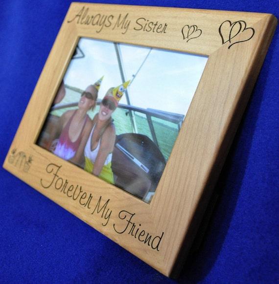 f93de729e6c5 Gift For Sister Sister Picture Frame Birthday For Sister