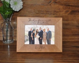 Parents Of The Bride ~ Wedding Gift For Parents ~ To Brides Parents From Groom ~ Wedding Frames ~ Wedding Gifts For Parents Of The Bride ~