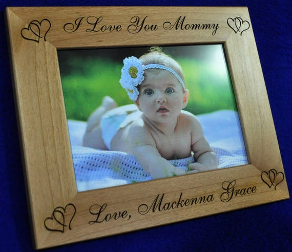Mothers Day Gifts Birthday Gift For Mom Baby Frame Etsy