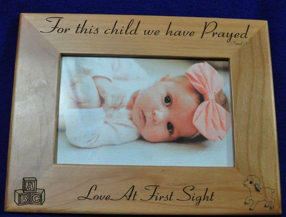 Gift For New Parents Baby Frame Custom Frames New Baby Etsy
