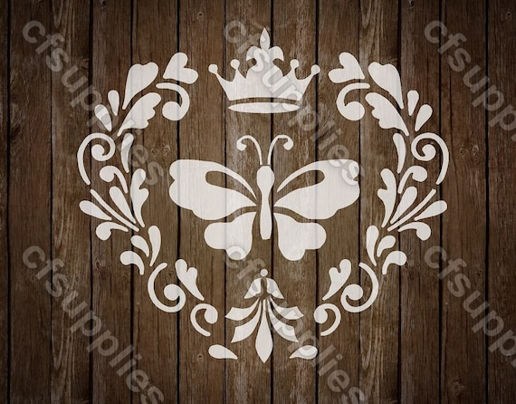 54 Stencil Shabby Chic FRENCH VINTAGE furniture ART CRAFT 190 micron MYLAR A5