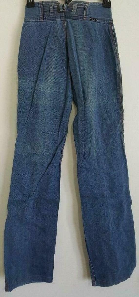 Vintage N'est Ce Pas Jeans High Rise Mom Boho Hipp