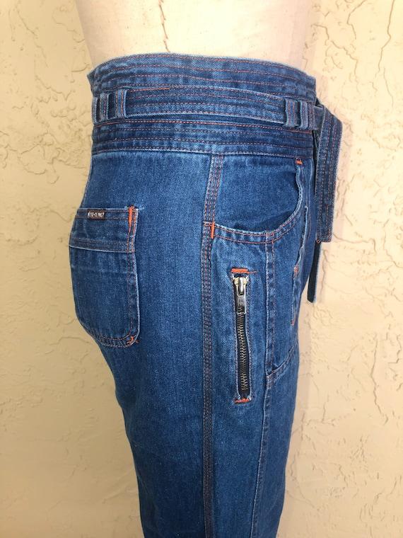 N'est Ce Pas Star Jeans Vintage 70s Denim Jeans W… - image 5