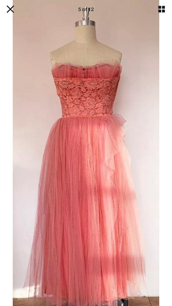 Vintage Dress Summer 50s 60s Summer Dress Resort P