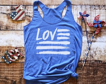 4th of July Tank - 4th of July Shirt - Merica Tank - Merica AF Shirt - Womens 4th of July - American Flag Shirt - 4th of July Shirt Women