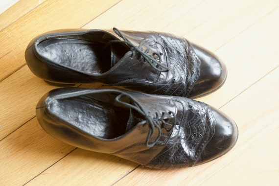 1940s Women's Oxford Brogues Size 8
