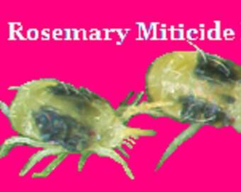 Rosemary Miticide XX Kills Spider Mites and Kills Spider Mite Eggs - Makes 28 Ounces