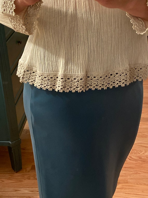 Lovely Blouse Made in Greece - Vintage Cotton Lac… - image 4