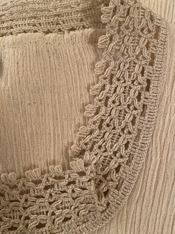 Lovely Blouse Made in Greece - Vintage Cotton Lac… - image 9
