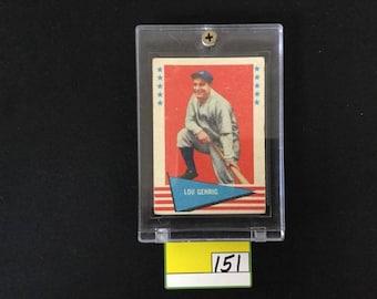 1961 Fleer Lou Gehrig #31