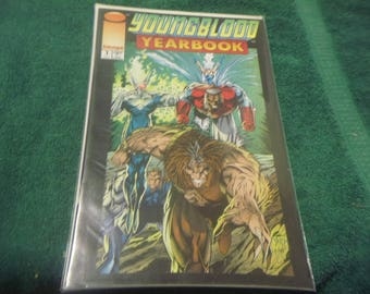 1993 Issue #1 Image Comic Book Youngblood Yearbook