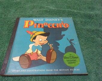 1939-40? Walt Disney Pinocchio Childrens Book